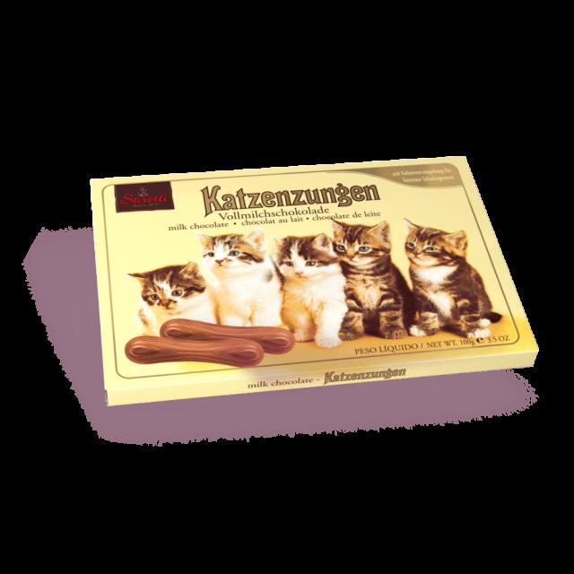 Bild für Katzenzungen