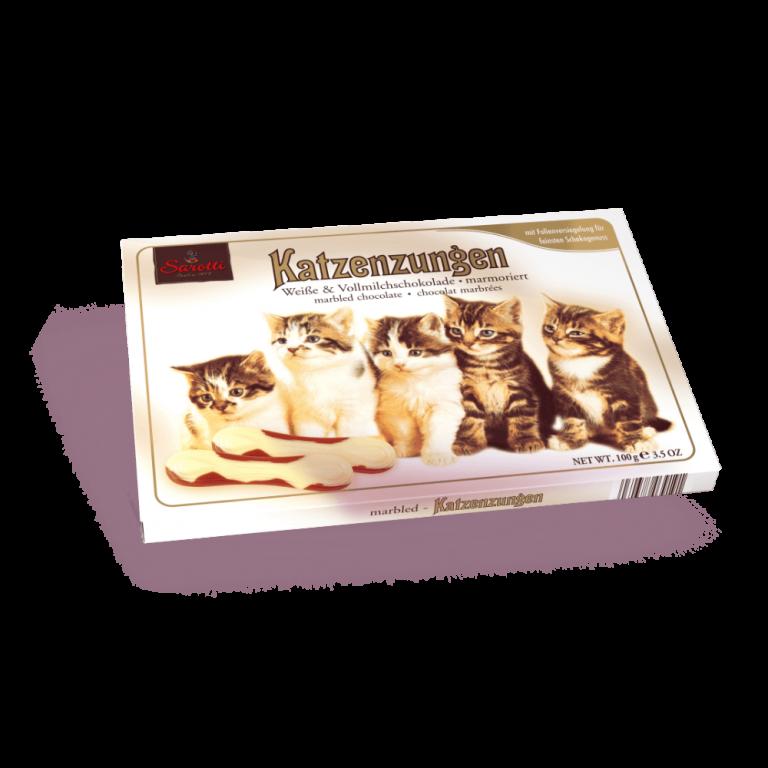 Katzenzungen Marmoriert