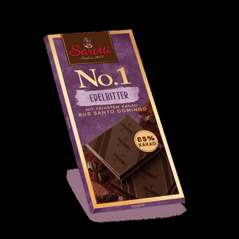 No.1 Tafeln – Edelbitter Santo Domingo