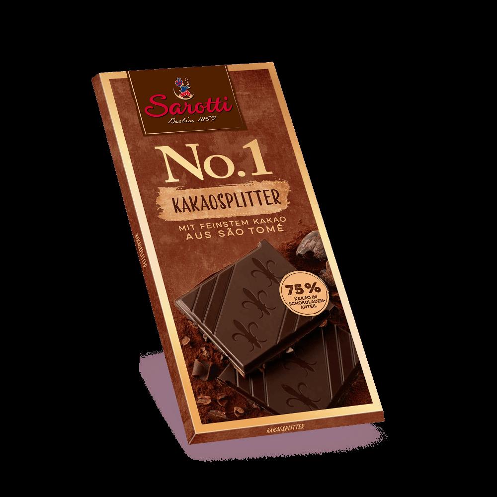 No.1 Tafeln – Kakaosplitter