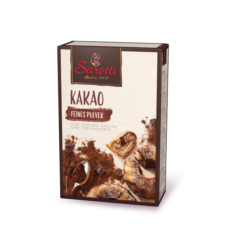 Trink Schokolade – Kakao Feines Pulver